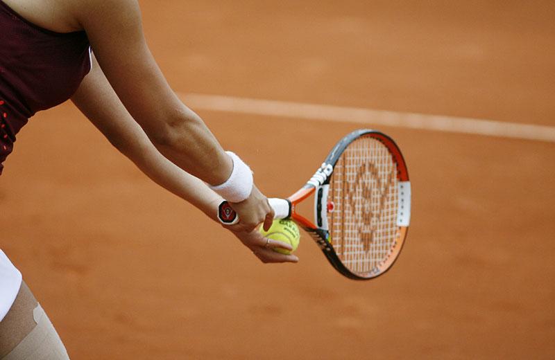 Tennis Aufschlag
